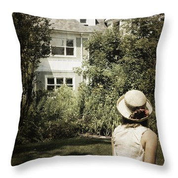 Longing Throw Pillow by Margie Hurwich