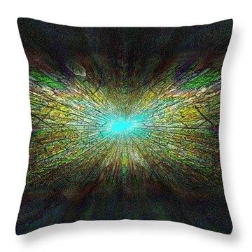 Look Up Throw Pillow by Tim Allen