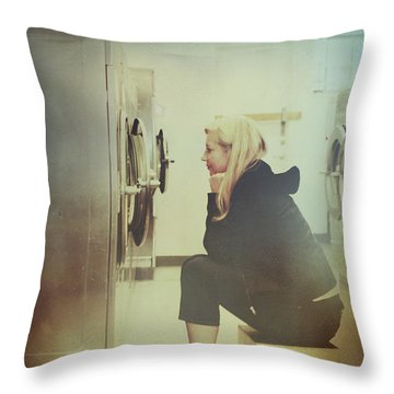 Looking For Answers In All The Wrong Places Throw Pillow by Laurie Search
