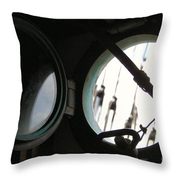 Looking Oceanside Throw Pillow