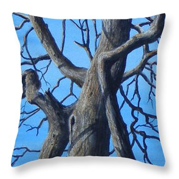 Looking Up   Sold Throw Pillow