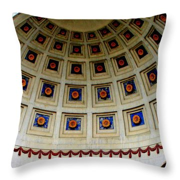 Looking Up Throw Pillow by Laurel Talabere