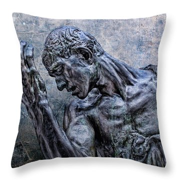 Lord Have Mercy Throw Pillow by Joachim G Pinkawa