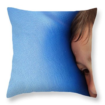 Lost In Thought Throw Pillow by Matthias Hauser
