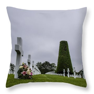 Lost Lives Throw Pillow
