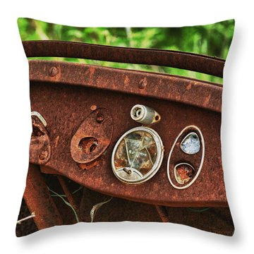 Lost Memories Throw Pillow by Travis Burgess