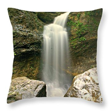 Lost Valleyh Throw Pillow by Marty Koch