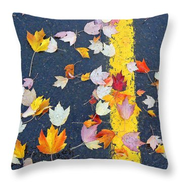 Lot Of Color Throw Pillow