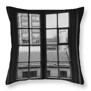 Lots Of Lines Throw Pillow by Anna Villarreal Garbis