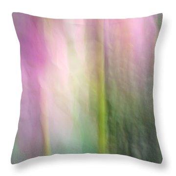Lotus Flower Impression Throw Pillow by Catherine Lau