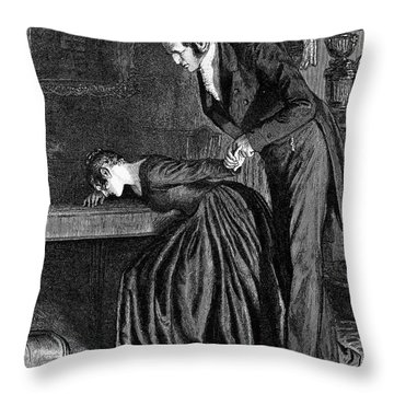 Love, 1886 Throw Pillow by Granger