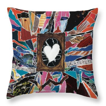 Love Always Pure Throw Pillow