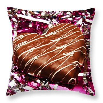 Love And All That Glitters Throw Pillow by Andee Design