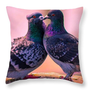 Love At First Site Throw Pillow by Shannon Harrington
