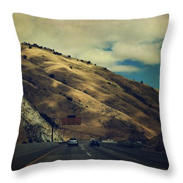 Love Is All Smoke And Mirrors Throw Pillow by Laurie Search