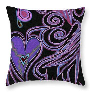 Love So Precious Throw Pillow