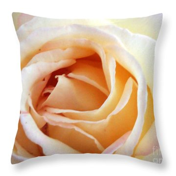 Love Unfurling Throw Pillow