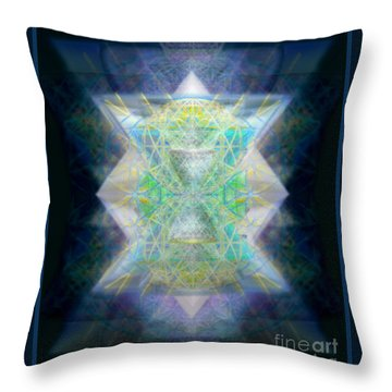 Love's Chalice From The Druid Tree Of Life Throw Pillow