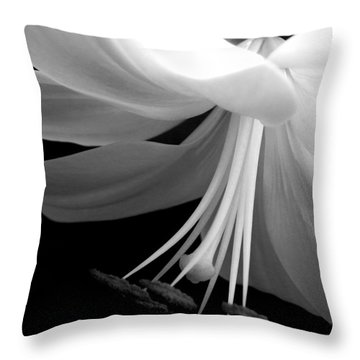 Love's Light Throw Pillow by Leah Moore