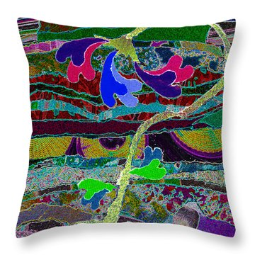 Loves Roots Throw Pillow