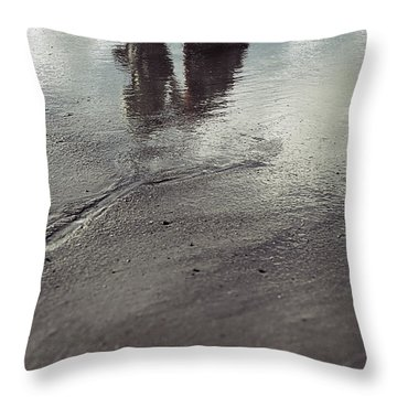 Low Tide Throw Pillow by Joana Kruse