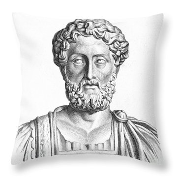 Lucius Commodus (161-192 A.d.) Throw Pillow by Granger