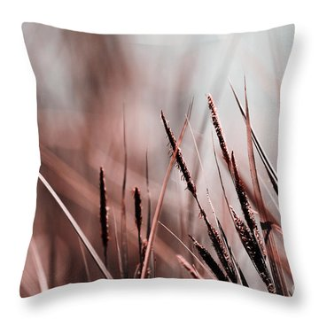 Luminis - S03a - Brown Throw Pillow by Variance Collections