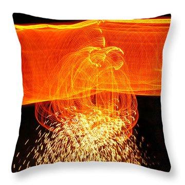 Luminosity Throw Pillow