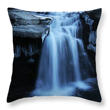 Lundbreck Falls Throw Pillow by Alyce Taylor
