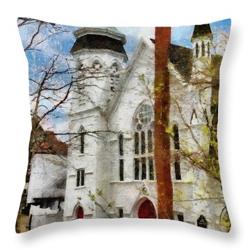 Lunenburg United Throw Pillow by Jeff Kolker