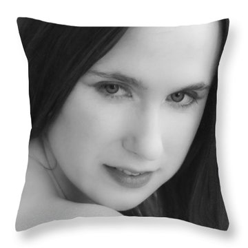 Lure Throw Pillow by Daniel Csoka