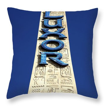 Luxor Las Vegas Obelisk Throw Pillow