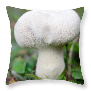 Lycoperdon Throw Pillow