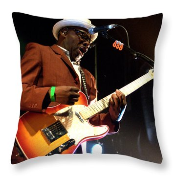Lynval Golding-the Specials Throw Pillow
