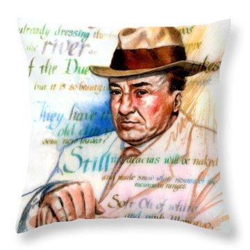 Machado Throw Pillow by Ken Meyer jr