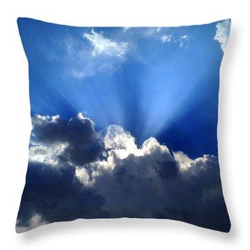 Macrocosm Throw Pillow by Lene Pieters