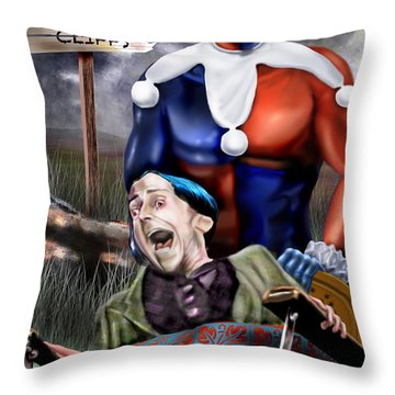 Mad Men Series 5 Of 6 - Sorry Grandma But You Got To Go Throw Pillow by Reggie Duffie