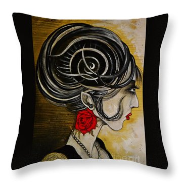 Madame D. Eternal's Dance Throw Pillow
