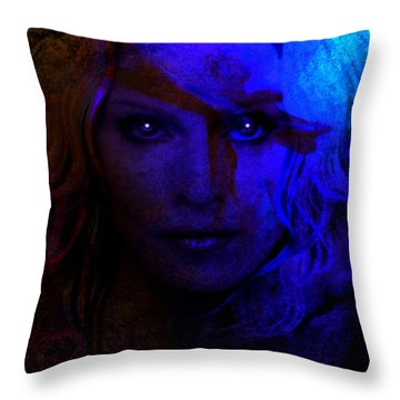 Madonna Throw Pillow by Susan  Solak