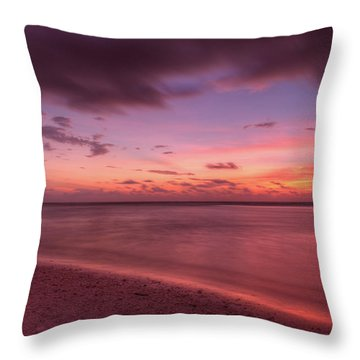 Magenta Magic Throw Pillow