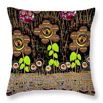 Magic Is Here To Stay Pop Art Throw Pillow by Pepita Selles