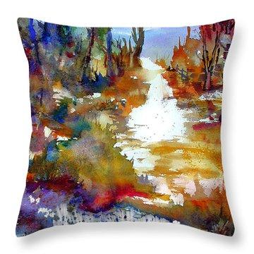 Magic Trail Throw Pillow