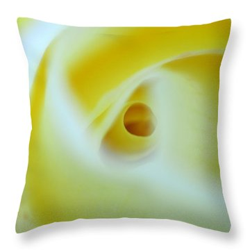 Magic Tunnel Throw Pillow