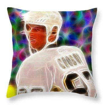 Magical Sidney Crosby Throw Pillow by Paul Van Scott