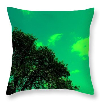 Magical Sky Throw Pillow by Michael Grubb