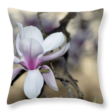 Magnolia One Throw Pillow