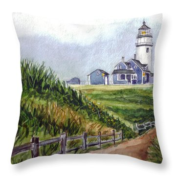 Maine Light Throw Pillow