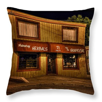 Mainstay At Night Throw Pillow
