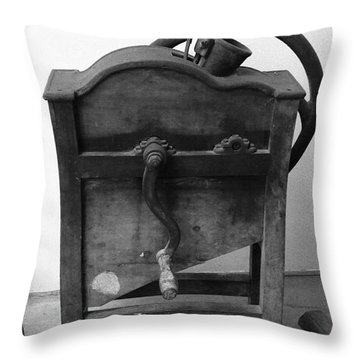 Maize Cob Sheller Throw Pillow by Gaspar Avila