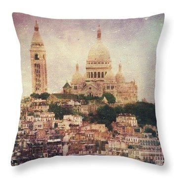 Majestic Haze Throw Pillow by Andrew Paranavitana